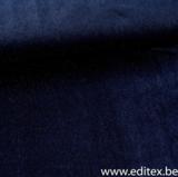 Carole blauwe fluwelen stof met glitter_