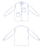Harold Overhemd Papieren Patroon_