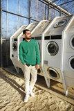 Calvin Naaipatroon Sweater 4