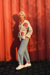 Julia Naaipatroon Kimono 1
